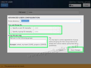 CentOS Linux Advanced User Configuration