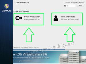 CentOS User Creation During Installation